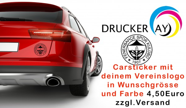 Car Sticker Sport Vereine FB